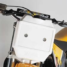 AUXILIARY FRONTAL TANK WHITE 3L Acerbis