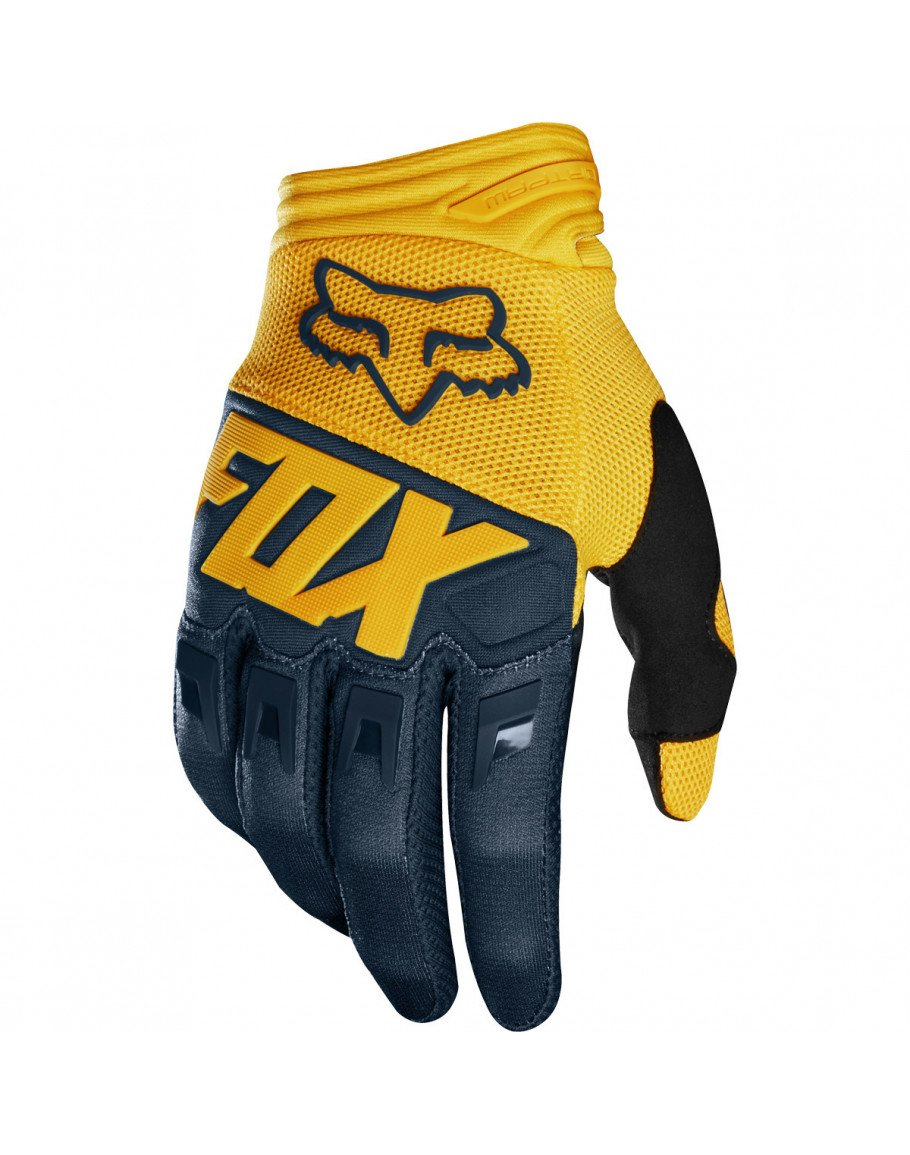 Rukavice FOX Dirtpaw Race navy/yellow 2019