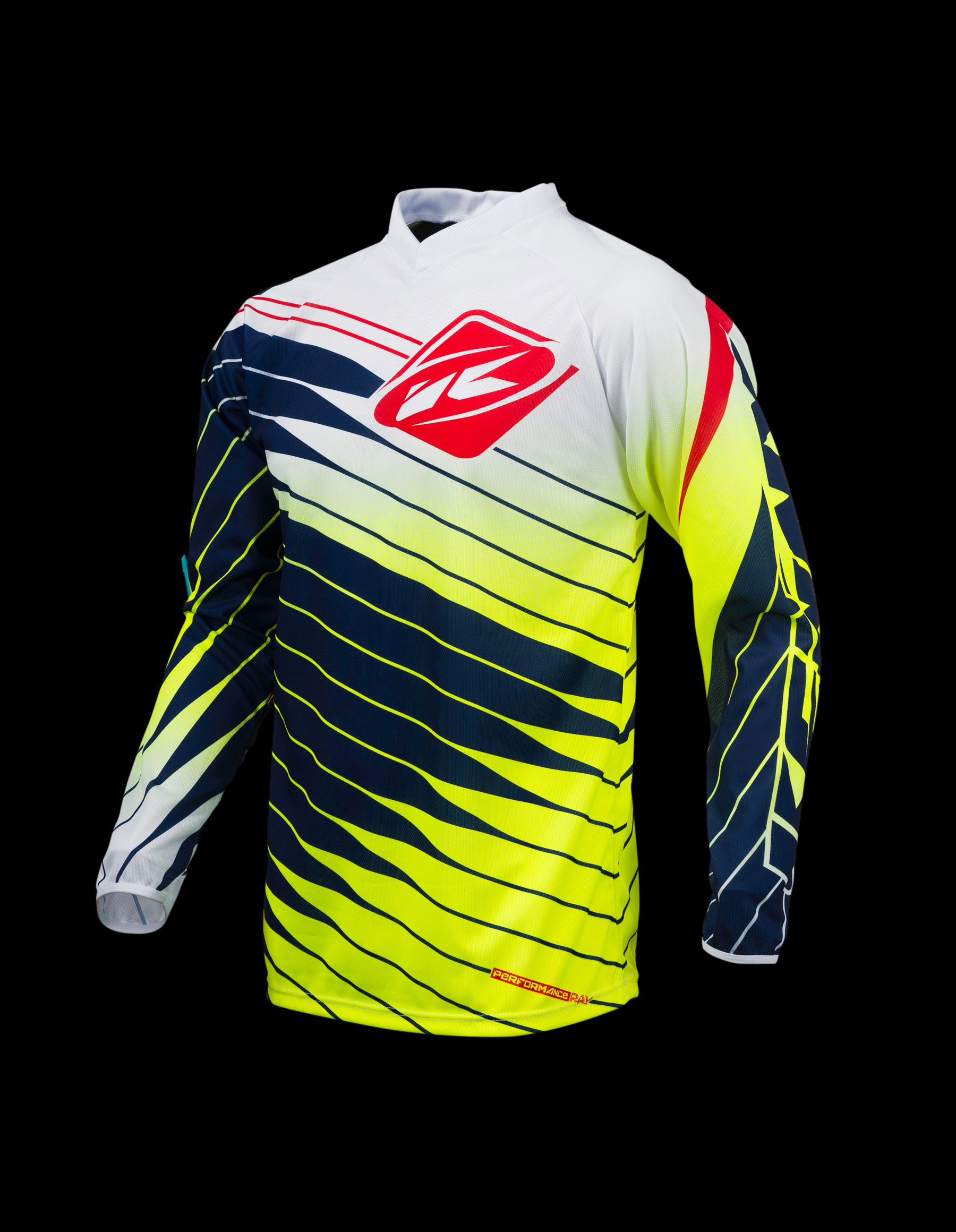 KENNY dres PERFORMANCE 2016 blue/neon yellow