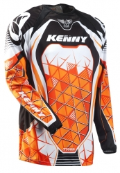 KENNY dres TITANIUM 11 Quadra orange