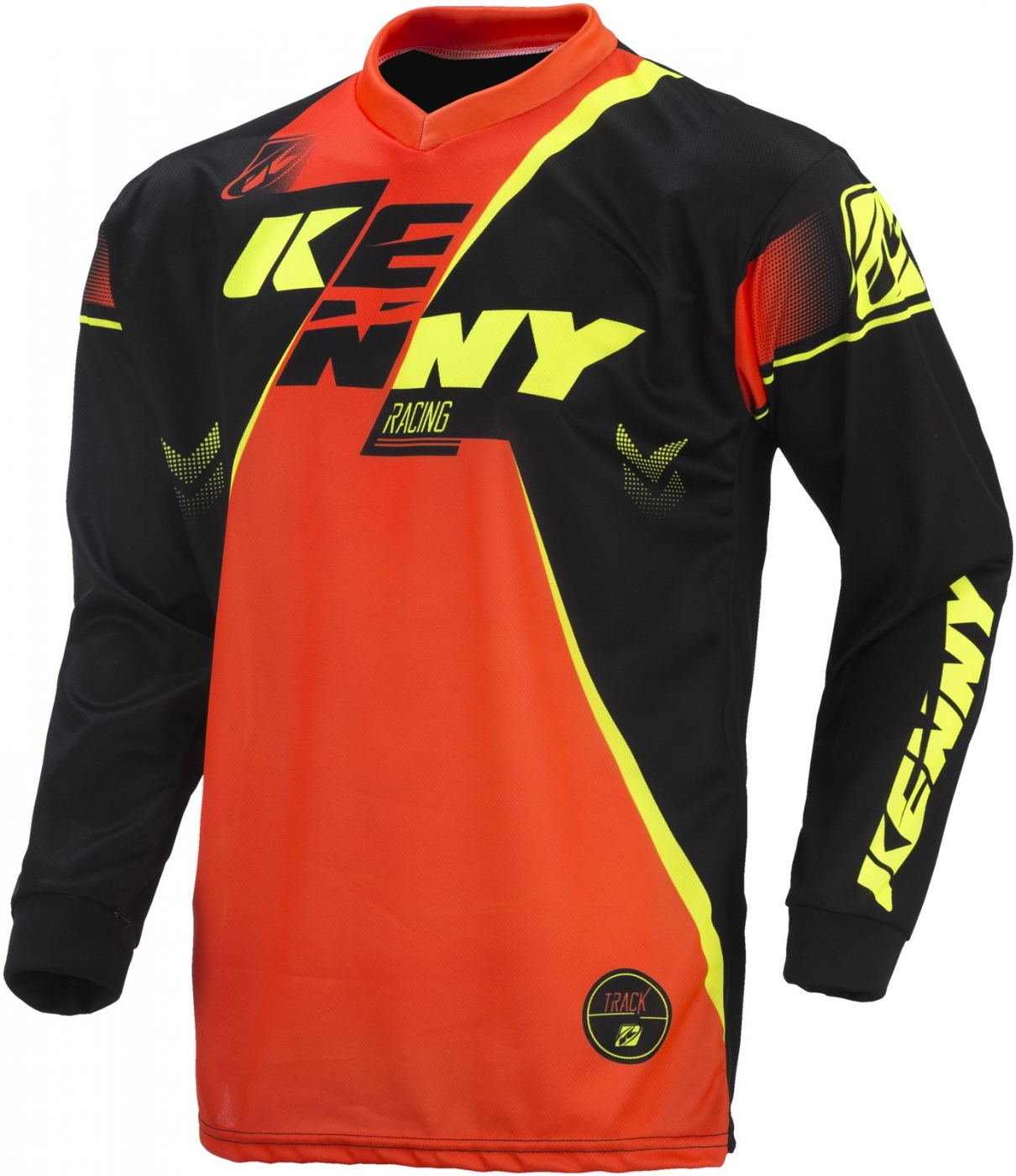 KENNY dres TRACK 17 black/neon orange