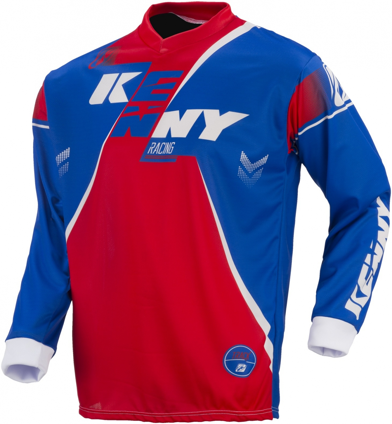 KENNY dres TRACK 17 blue/red