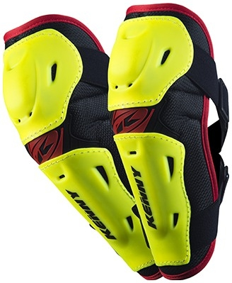 KENNY chránič lakťov ELBOW GUARDS 14 neon yellow