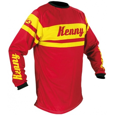 KENNY dres TRACK 10 Vintage collector red
