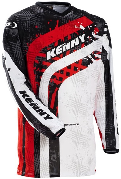 KENNY dres PERFORMANCE 12 red