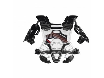 ACERBIS BOMBER CHEST PROTECTOR TRANSPARENT/BLACK dospelý