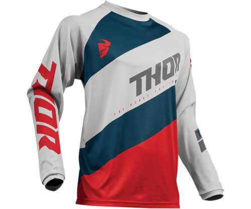 Dres Thor S9 Sector Shear light grey/red
