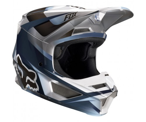 Prilba FOX V1 MOTIF blue/grey 2019