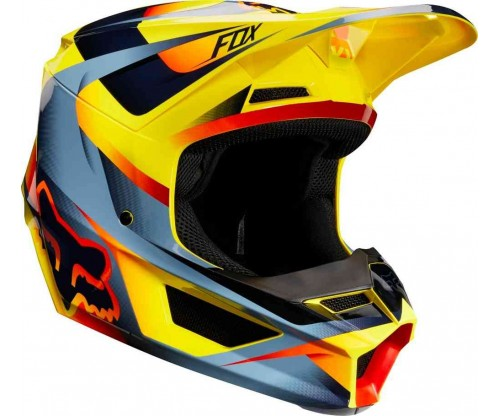 Prilba FOX V1 MOTIF yellow 2019