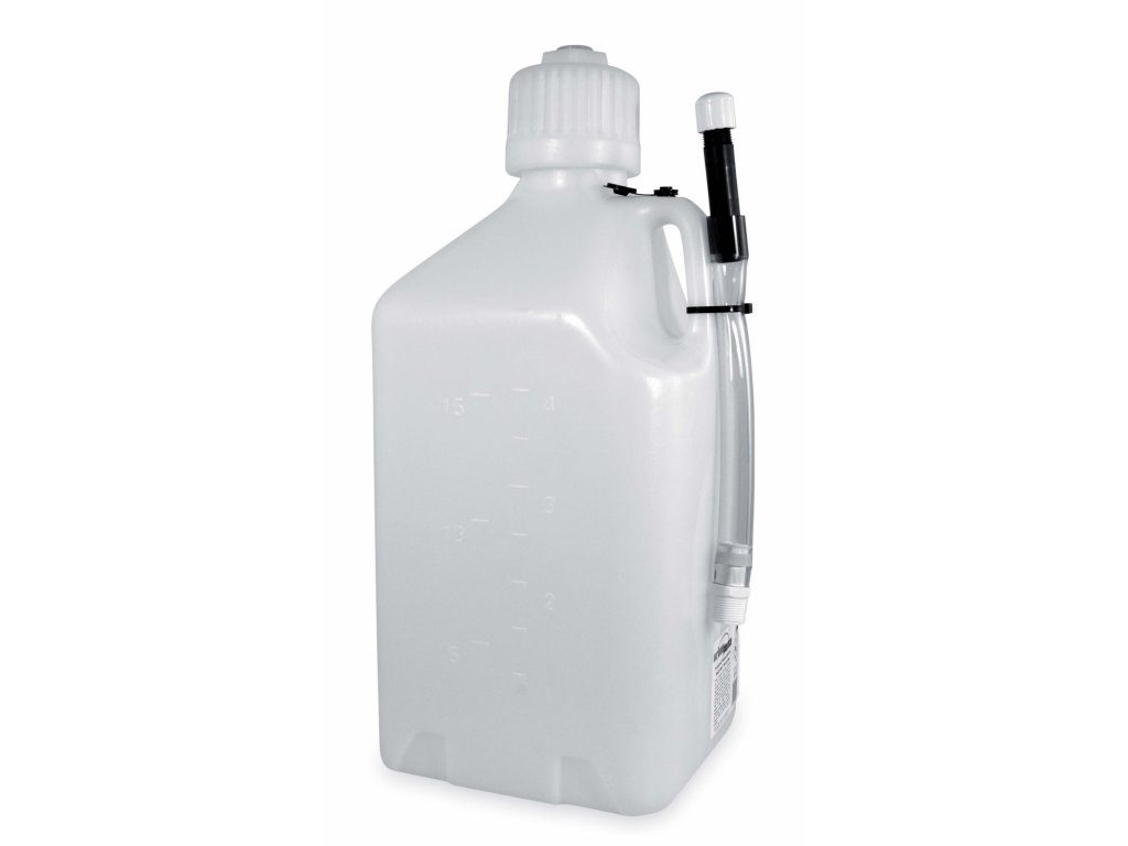 18 LT. GAS CONTAINER WHITE Acerbis