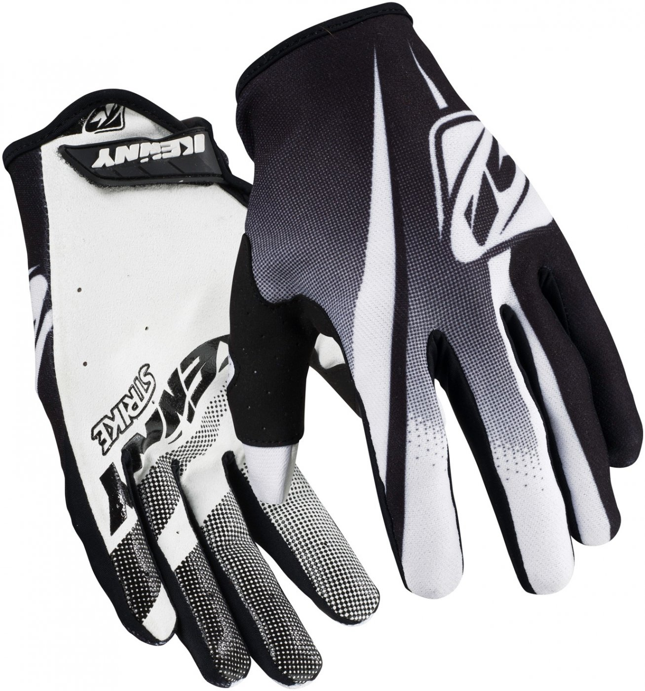 KENNY rukavice STRIKE 16 black / white