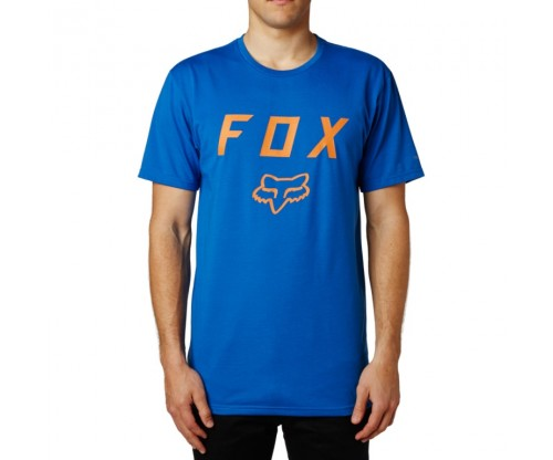 Pánske tričko Fox Contended SS Tech Tee Dusty Blue