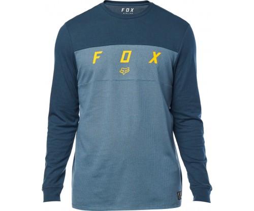 8fb359f06b89 Pánske tričko Fox Slyder Ls Knit navy