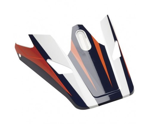 Šilt na prilbu Thor Sector Ricochet navy/orange