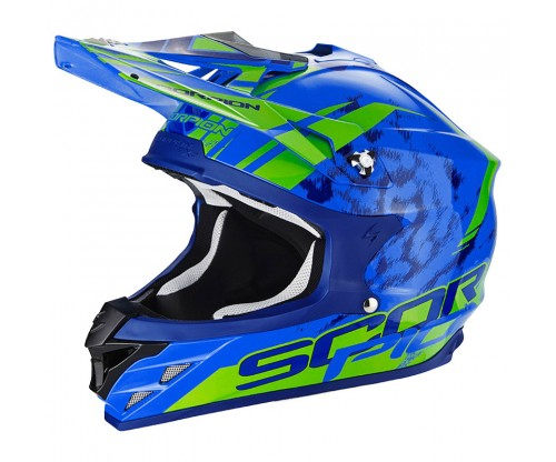 Scorpion VX-15 KITSUNE blue-green