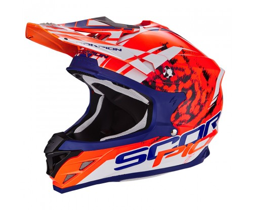 Scorpion VX-15 KITSUNE orange-blue-white