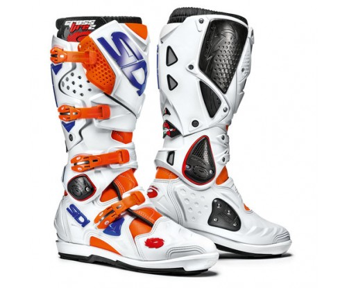 Sidi Crossfire SRS 2 white /blue / fluo orange