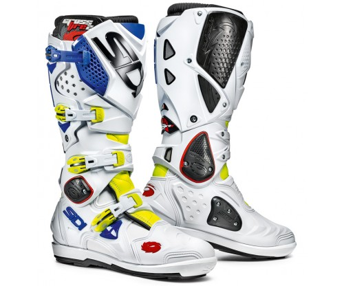Sidi Crossfire SRS 2 white/blue/yellow