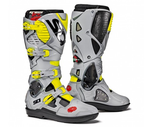 Sidi Crossfire 3 SRS black/ash/yellow fluo