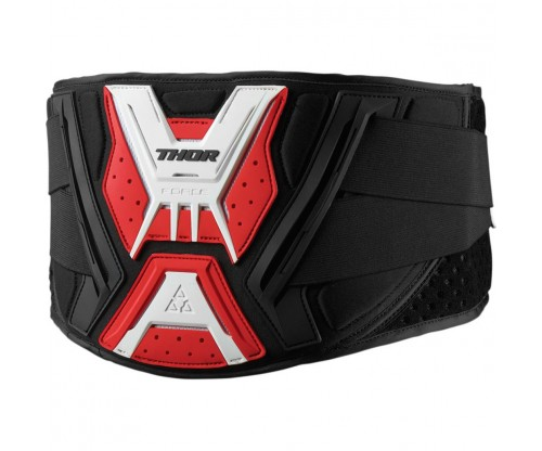 Ľadvinový pás Thor Belt Force black/red