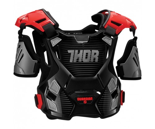 Chránič hrude Thor Guardian black/red