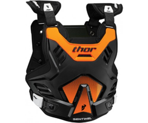 Chránič hrude Thor Sentinel GP black/orange