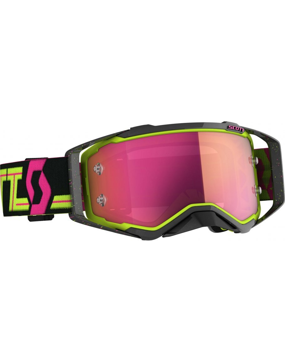 Okuliare SCOTT Prospect black/yellow pink
