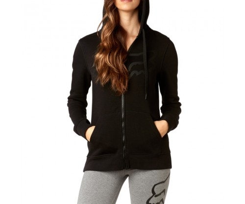 Dámska mikina Fox Certain Zip Fleece Black