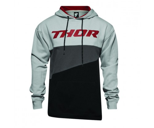 Mikina Thor S7 MAIN EVENT gray/burgundy