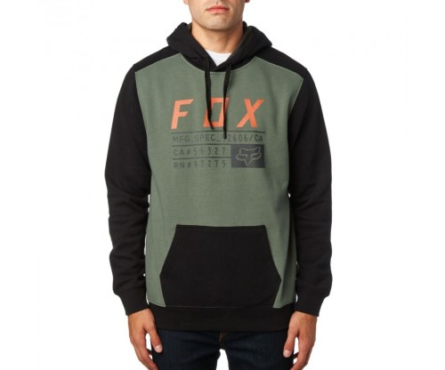 Pánska mikina Fox District 3 Pullover Fleece Dark Fatigue 2018