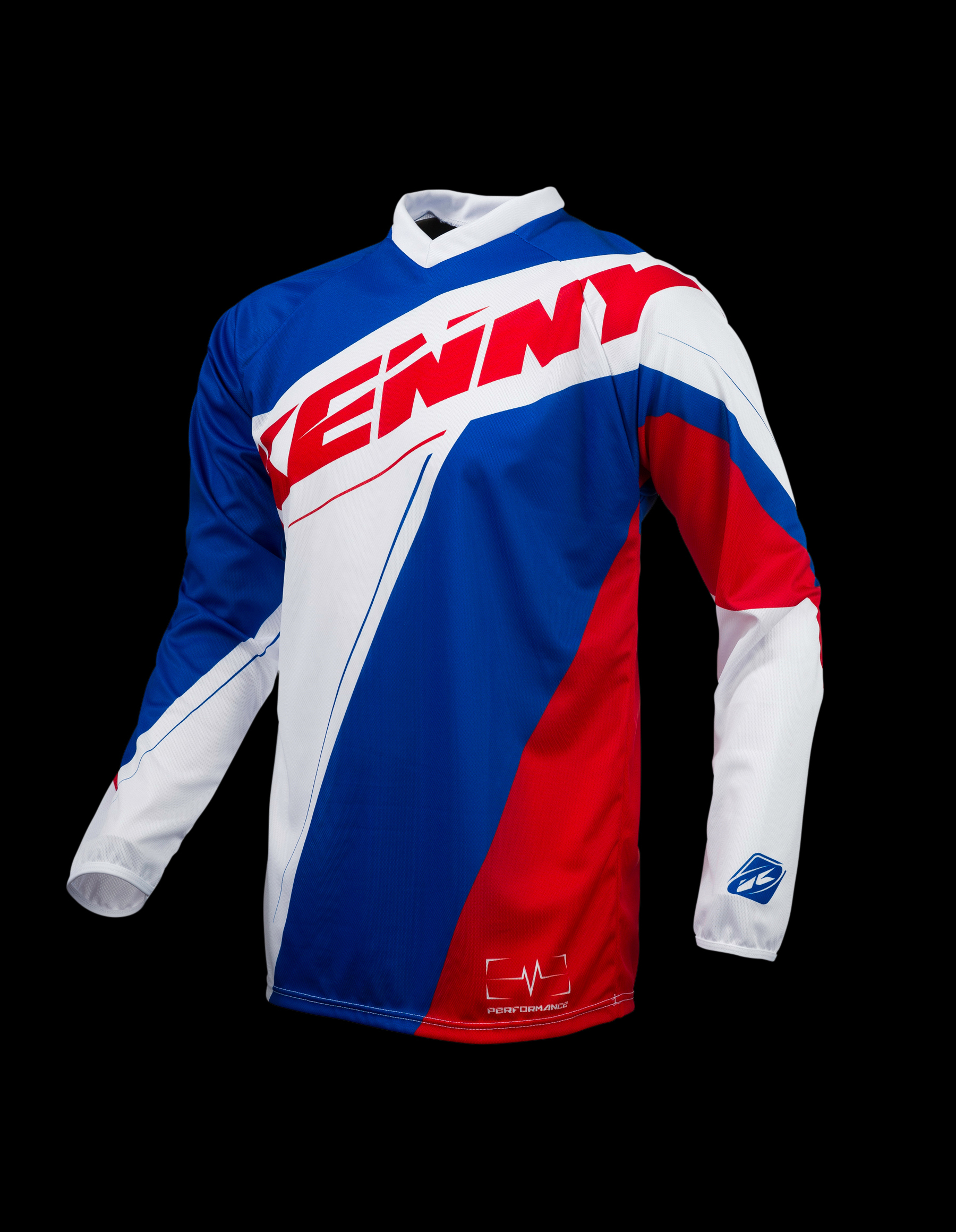 KENNY dres PERFORMANCE 2016 blue/white/red