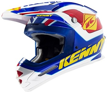 KENNY Prilba TRACK 15 blue/yellow/red