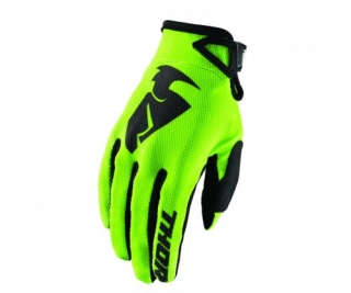 Rukavice Thor Sector S8 lime