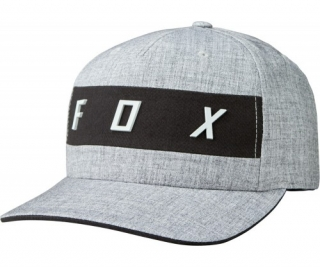 Šiltovka Fox Set In Flexfit Heather Grey